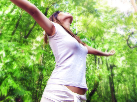 Gérer des troubles de l'humeur grâce à un environnement naturel